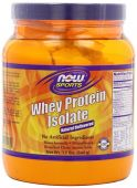 NOW Sports, Whey Protein Isolate, Natural, Unflavored, 1.2lb
