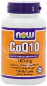 NOW CoQ10 100 mg - 150 Softgels