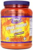 NOW Sports, Whey Protein Isolate, Dutch Chocolate, 1.8lb