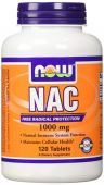 NOW NAC, 1000 mg, 120 Tabs