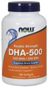 NOW DHA 500, 180 Softgels