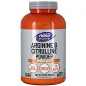 Arginine and Citrulline Powder By NOW, 12 oz