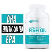 Optimum Nutrition Fish Oil, Enteric Coated