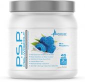 PSP Pre-Workout, By Metabolic Nutrition, Blue Raspberry, 45 Servings