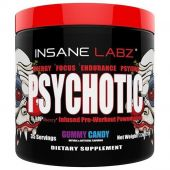 Insane Labz PSYCHOTIC Gummy Candy, 35 Servings