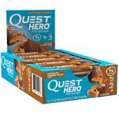 Hero Protein Bars By Quest Nutrition, Chocolate Caramel Pecan, 10/Box