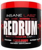 Redrum Pre Workout by Insane Labz, Apple, 25 Servings