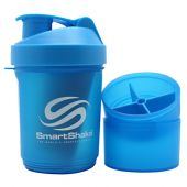 SMART SHAKE Shaker Cup Neon Blue 20 Oz