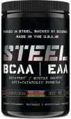 Steel BCAA EAA, Blue Raspberry Watermelon, 30 Servings