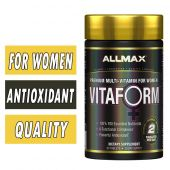 Vitaform Women's Multivitamin By Allmax Nutrition, 60 tablets
