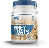 Whey and Oats, Optimum Nutrition, Vanilla Almond Pastry, 14 Servings