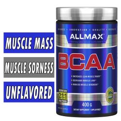 Allmax BCAA 2:1:1 Unflavored 400 Grams