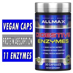 Allmax Digestive Enzymes 90 Caps