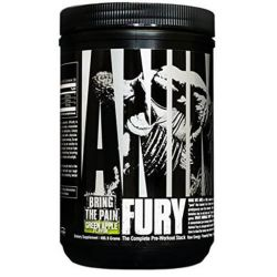 Animal Fury Pre Workout, By Universal Nutrition, Green Apple, 30 Servings
