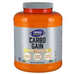 NOW Carbo Gain 100% Complex Carbohydrate - 8 lbs.