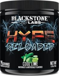 Hype Reloaded By Blackstone Labs, Cool Lime, 25 Servings