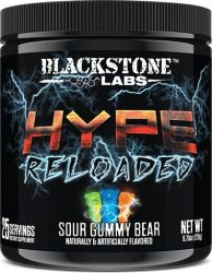 Hype Reloaded By Blackstone Labs, Sour Gummy Bear, 25 Servings