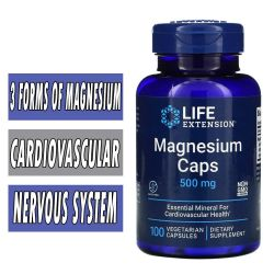 Life Extension Magnesium - 500 mg - 100 VCaps
