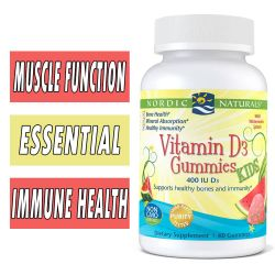 Nordic Naturals Vitamin D3 Gummies for Kids - 60 Count