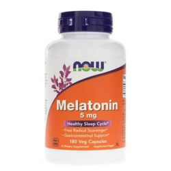 Melatonin, By NOW Foods, 5mg, 180 VCaps