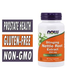 NOW Stinging Nettle Root Extract, 250 mg 90 Veg Capsules