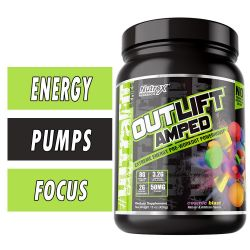 Outlift Amped By Nutrex, Pre Workout