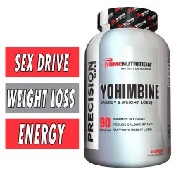 Yohimbine By Prime Nutrition, 90 Caps
