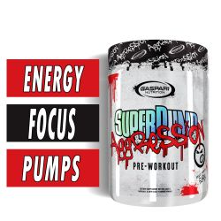 SuperPump Aggression - Fruit Punch Fury - 25 Servings