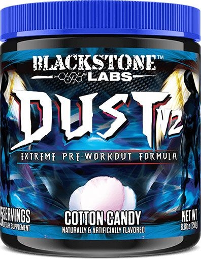 Dust V2 Pre Workout - Cotton Candy - 25 Servings