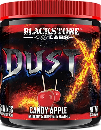 Dust X Pre Workout By Blackstone Labs, Candy Apple, 25 Servings