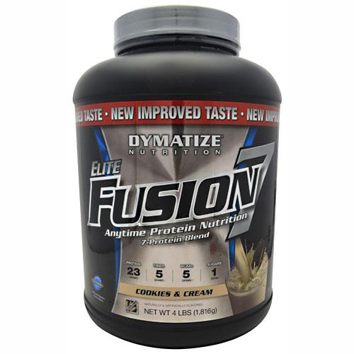 Elite Fusion-7 By Dymatize Nutrition, Cookies & Cream, 4lb