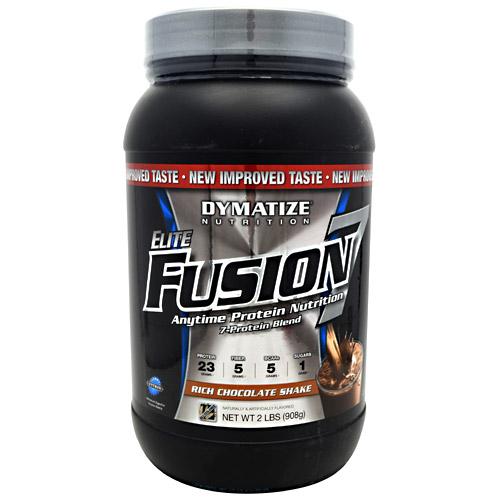 Elite Fusion-7 By Dymatize Nutrition, Rich Chocolate Shake, 2lb