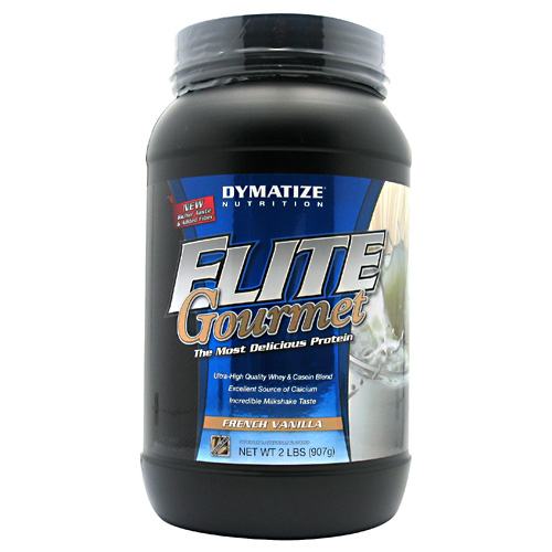 Elite Gourmet Protein By Dymatize Nutrition, French Vanilla, 2lb