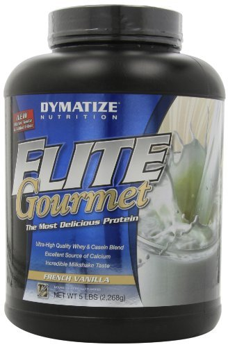 Elite Gourmet Protein By Dymatize Nutrition, French Vanilla, 5lb
