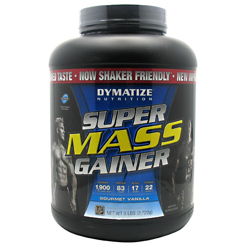 Super Mass Gainer By Dymatize Nutrition, Gourmet Vanilla 6lb