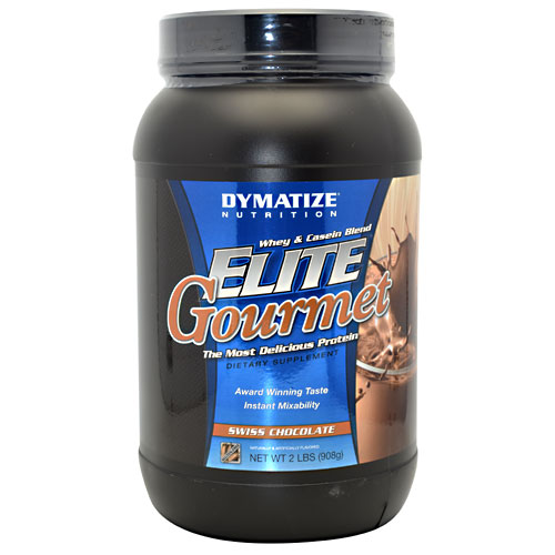 Elite Gourmet Protein By Dymatize Nutrition, Swiss Chocolate 2lb