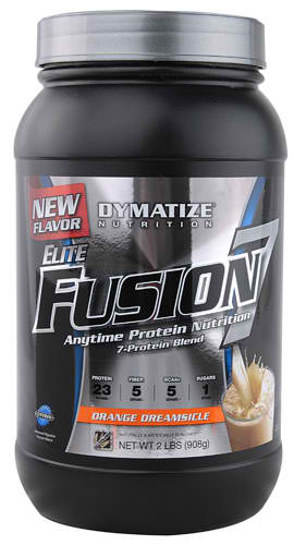 Elite Fusion-7 By Dymatize Nutrition, Orange Dreamsicle 2lb