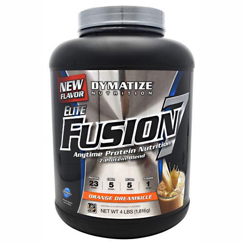 Elite Fusion-7 By Dymatize Nutrition, Orange Dreamsicle 4lb