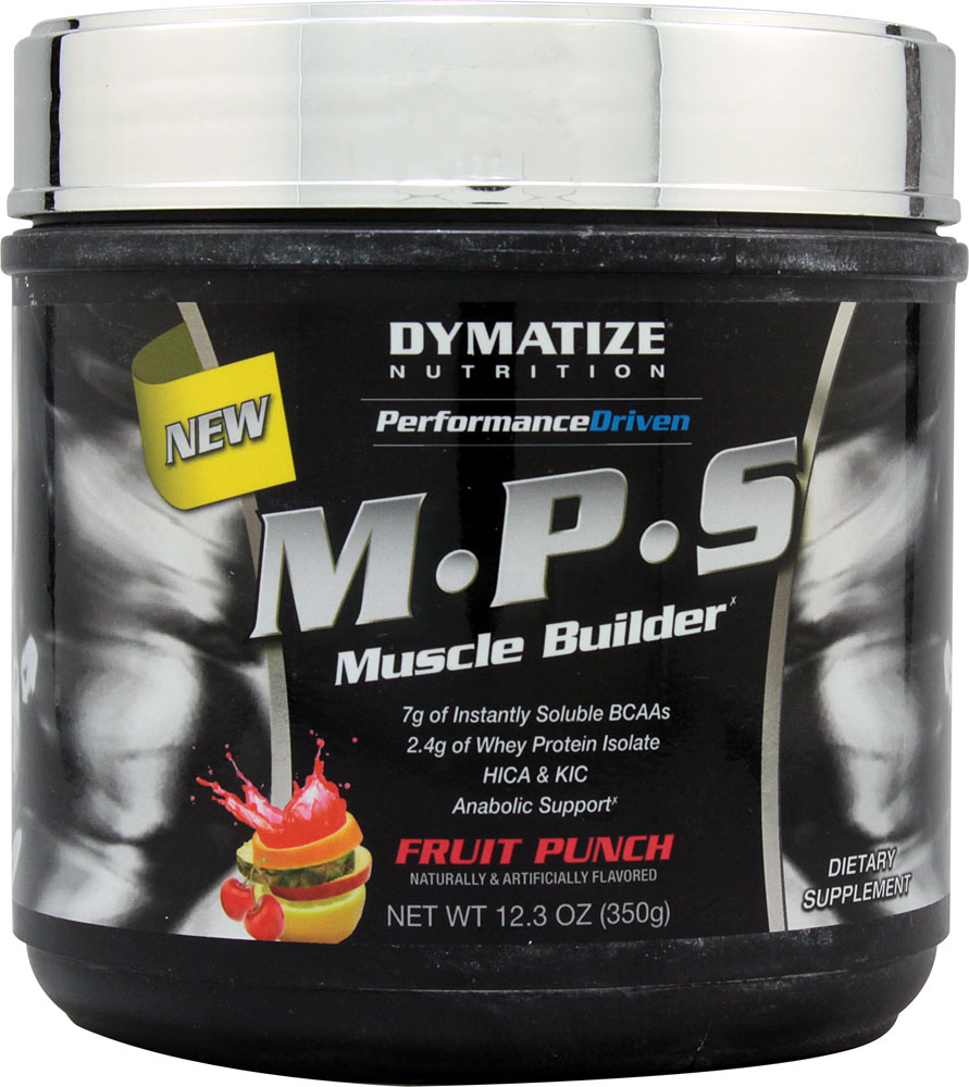 M.P.S. By Dymatize Nutrition, Fruit Punch, 20 Servings