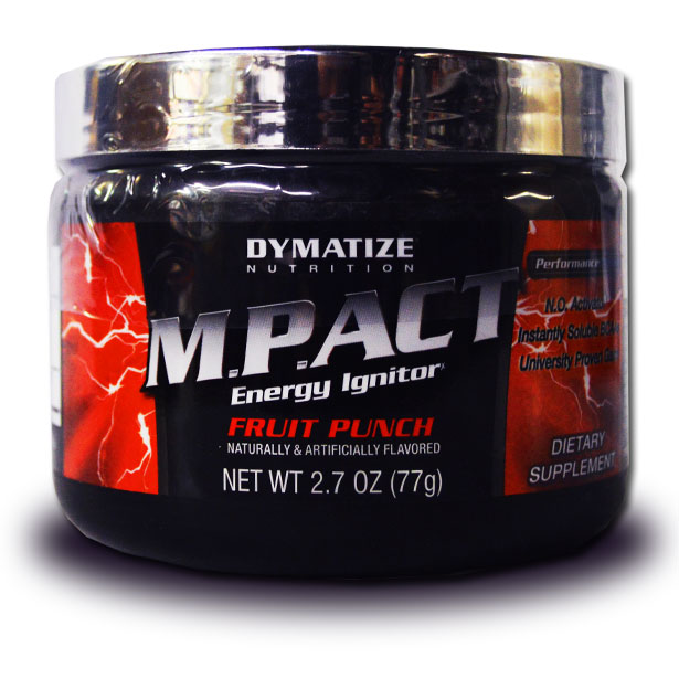 M.P.ACT By Dymatize Nutrition, Fruit Punch 7 Servings