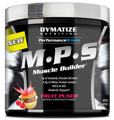MPS By Dymatize Nutrition, Fruit Punch, 4 Servings