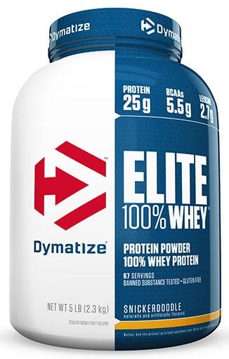 Dymatize Elite Whey Protein, Snickerdoodle, 5lb