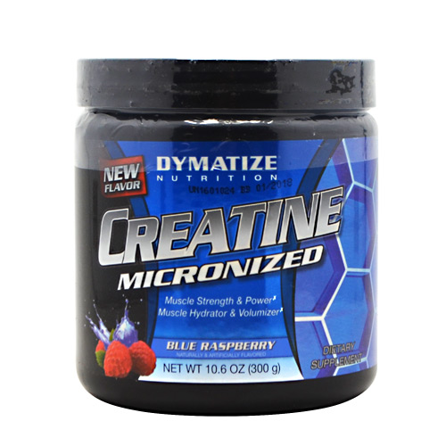 Creatine By Dymatize Nutrition, Blue Raspberry, 300 Grams