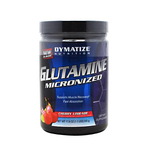 Glutamine Powder By Dymatize Nutrition, Cherry Limeade, 500 Grams