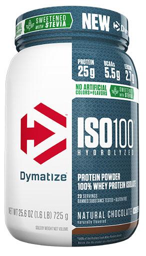 Dymatize ISO 100, Dutch Chocolate, 1.6lb