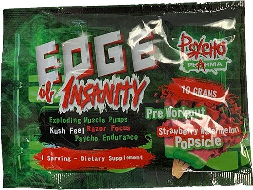 EDGE OF INSANITY STRAWBERRY WATERMELON - SAMPLE
