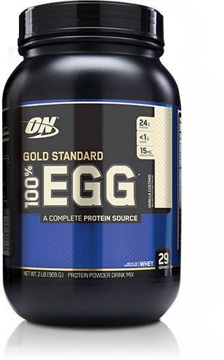 Egg Protein By Optimum Nutrition, Vanilla 2lb