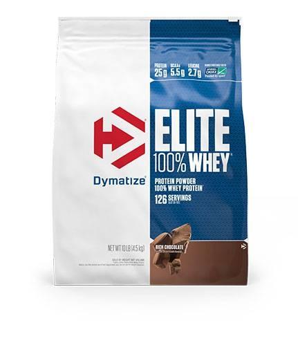 Dymatize Elite Whey Protein, Rich Chocolate 10 lbs