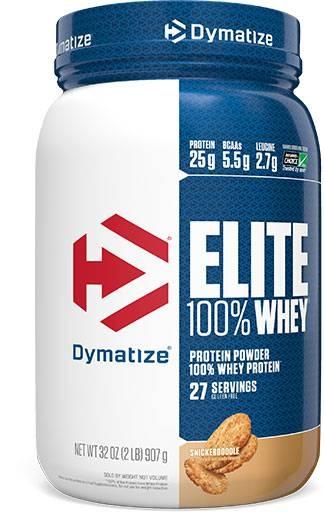 Dymatize Elite Whey Protein, Snickerdoodle, 2lb