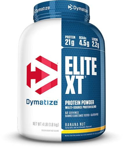 Elite XT Protein By Dymatize Nutrition, Banana Nut 4lb